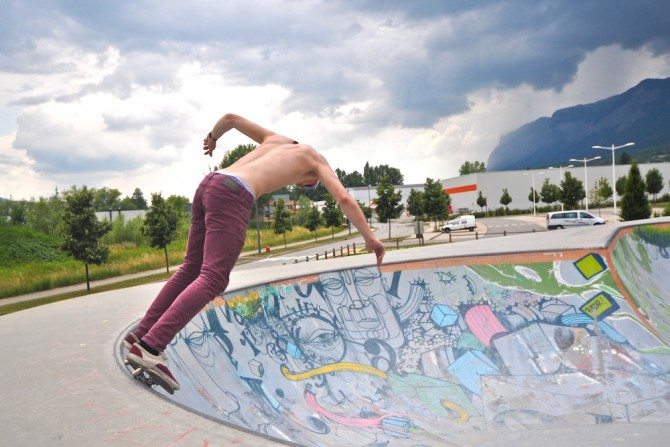 Grenoble Outdoor-Pool Paromcamps
